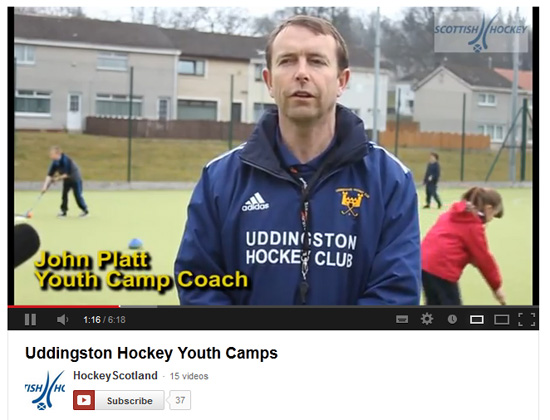 SHU Uddingston Hockey Youth Camps video.