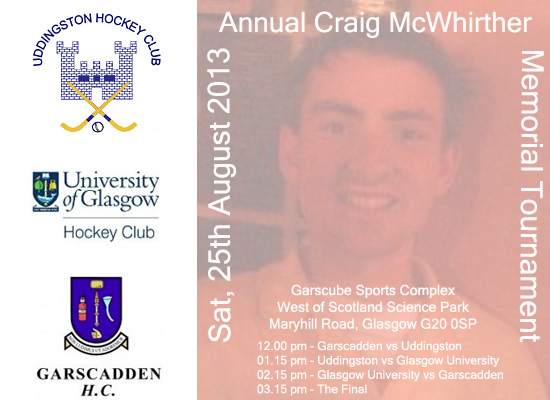 Annual Craig McWhirther Memorial Tournament