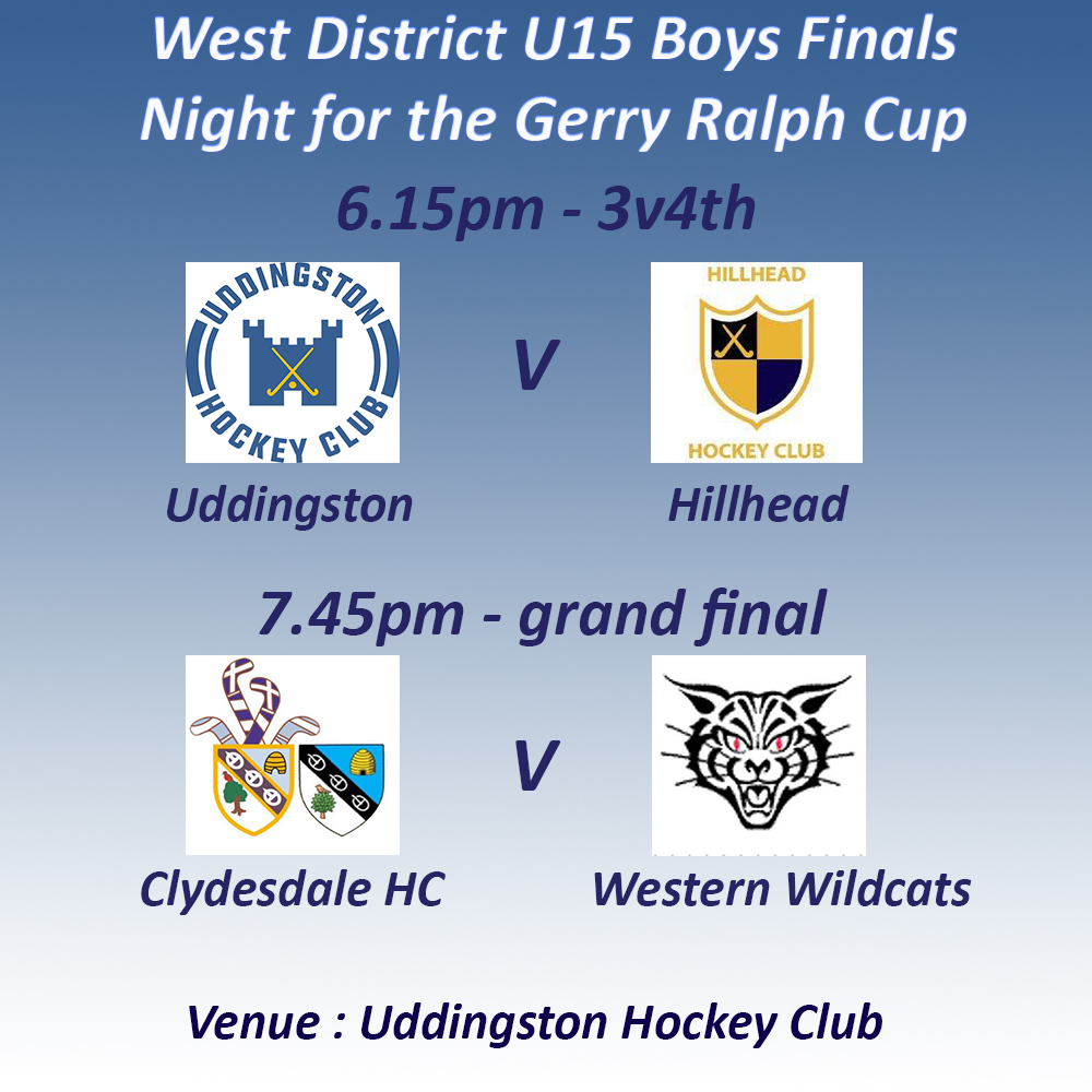 U15 finals night